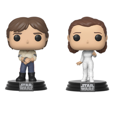 POP Vinyl: Star Wars - 2PK Han & Leia