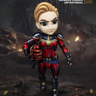 Avengers : Endgame Egg Attack figurine Captain Marvel 17 cm