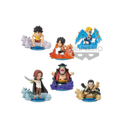 One Piece assortiment figurines WCF ChiBi 7 cm Burst