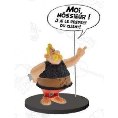 Asterix: Comics Speech Collection - Unhygienix Statue
