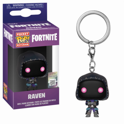 Pocket Pop Keychains: Fortnite - Raven