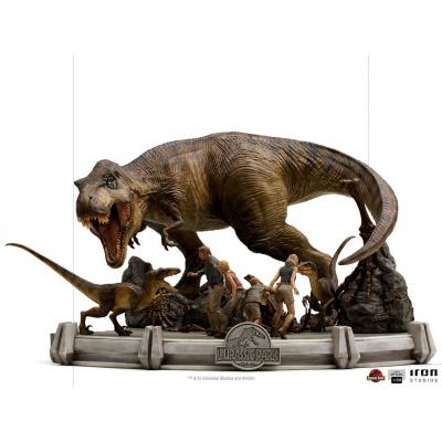 Jurassic Park: The Final Scene 1:20 Scale Diorama