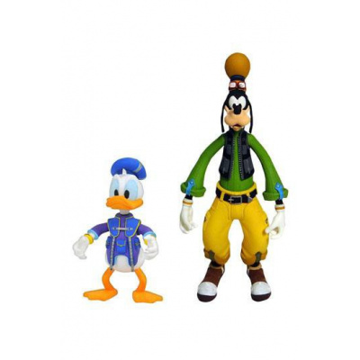 Kingdom Hearts 3 Select pack 2 figurines Goofy & Donald 10 - 18 cm