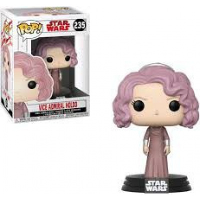 The Last Jedi Funko POP Star Wars Vice Admiral Holdo Vinyl Bobble Head 235