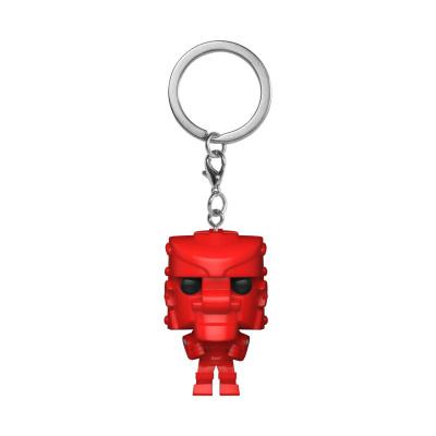Pocket Pop! Keychain: Mattel - Rock Em Sock Em Robot Red