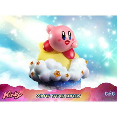 Kirby: Warp Star Kirby 12 inch Statue