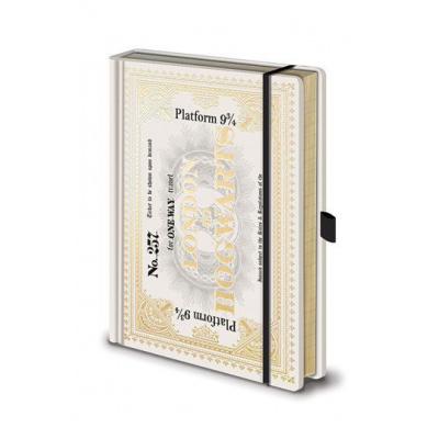 Harry Potter (Hogwarts Express Ticket) Premium A5 Notebook