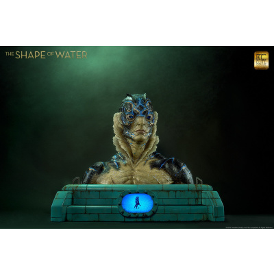The Shape of Water: Amphibian Man Life Sized Bust