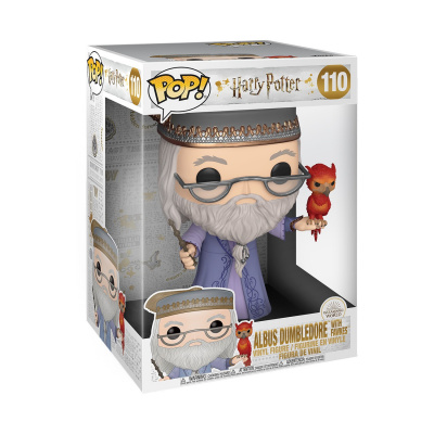 Pop! Harry Potter: 10 inch Dumbledore with Fawkes