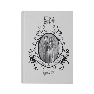 Corpse Bride: Victor and Emily 2021 Planner