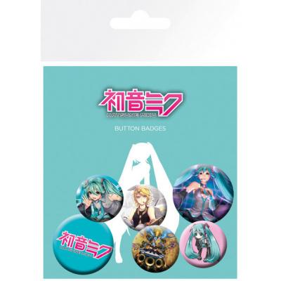 Hatsune Miku Badge Pack