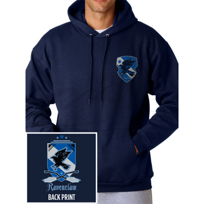 HARRY POTTER - [R] HOUSE RAVENCLAW Pullover Hoodie NAVY