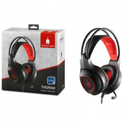 Spartan Gear - Thorax Wired Headset (Compatible with PC, Playstation 4, XboxOne)