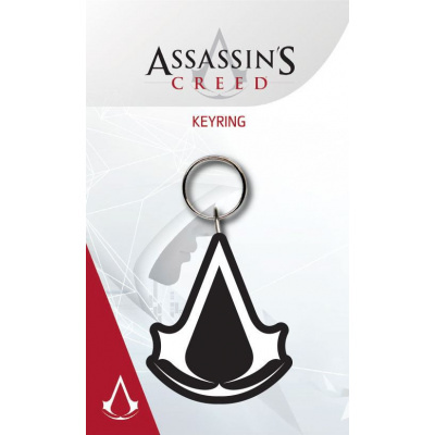 Assassin's Creed Rubber Keychain