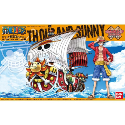 One Piece: Grand Ship Collection - Thousand Sunny Model Kit