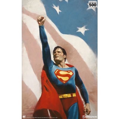 DC Comics: Superman - Someone to Believe In Unframed Art Print
