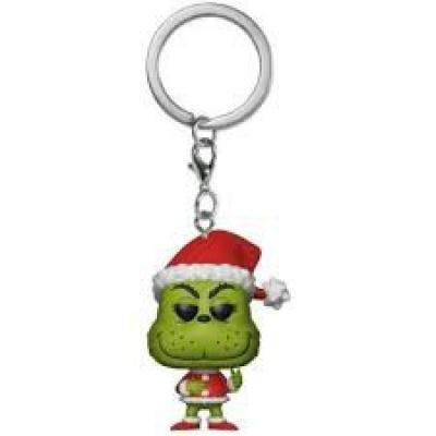 POP Pocket Keychain Dr. Seuss The Grinch