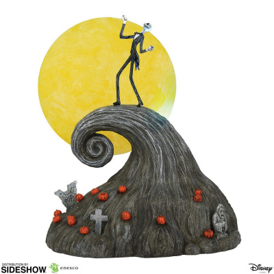 The Nightmare Before Christmas: Jack on Spiral Hill Figurine