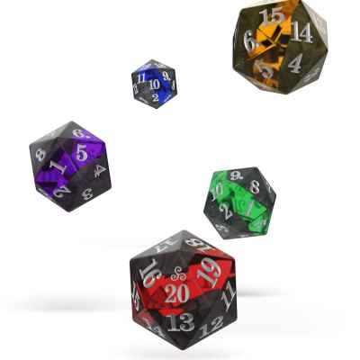 Oakie Doakie Dice set Spindown D20 Enclave
