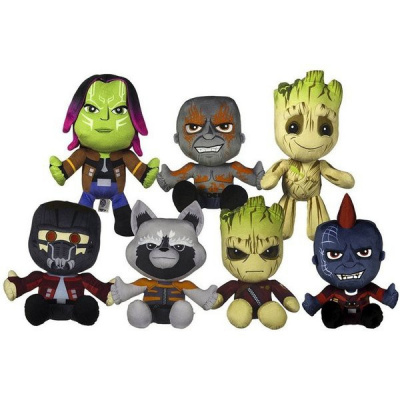 Guardians of the Galaxy Pluche Knuffels 18cm