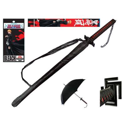 Bleach Sword Handle Umbrella Ichigo Bankai Tensa Zangetsu