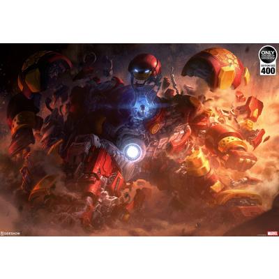 Marvel: Hulkbuster Unframed Art Print