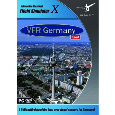 VFR: Germany 4 (East) (FS X Add-On) PC