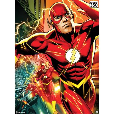 DC Comics: The Flash Unframed Art Print