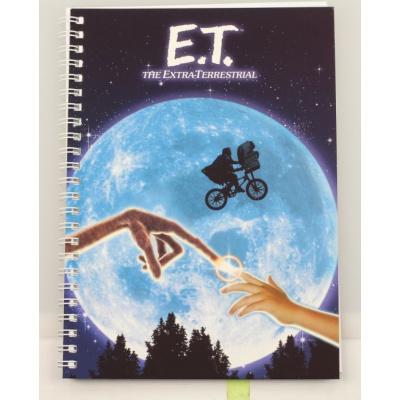 ET: Movie Poster Spiral Notebook