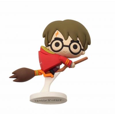 Harry Potter: Rubber Mini Figure - Harry Potter Nimbus Red Cape