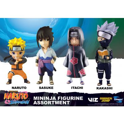 Naruto Shippuden: Blister Tray Mininja Figurine Asst.