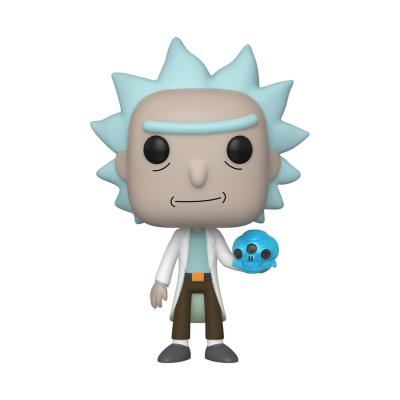 Pop! Cartoons: Rick and Morty - Rick with Crystal Skull