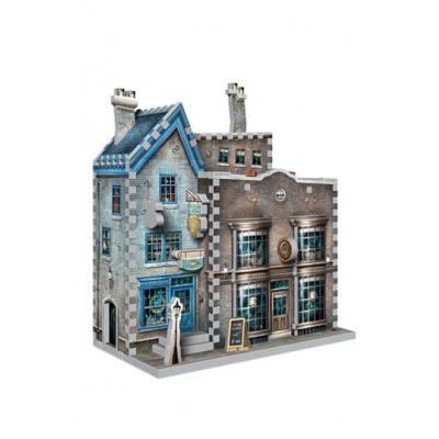 Harry Potter Puzzle 3D DAC Ollivander's Wand Shop & Scribbulus Writing Implements