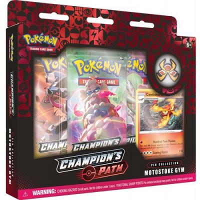 Pokemon - Champion's Path Pin Collection Motostoke Gym