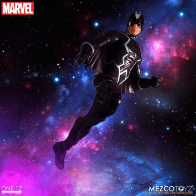 The One:12 Collective: Marvel - Black Bolt and Lockjaw