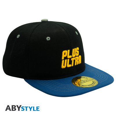 MY HERO ACADEMIA - Snapback Cap - Black & Blue - Plus Ultra