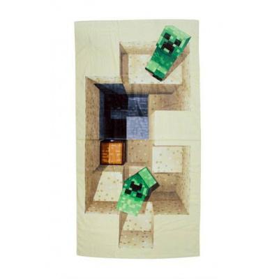 Minecraft towel Defeat 140 x 70 cm