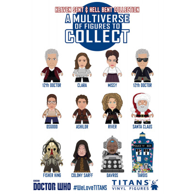 Doctor Who: 12th Doctor Titans Asst.