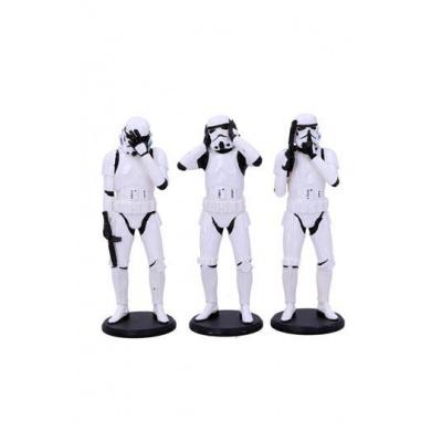 Stormtrooper pack 3 figurines Three Wise Stormtroopers 14 cm