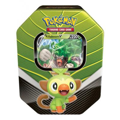 Pokémon Trading Cards, Tin Box Rillaboom