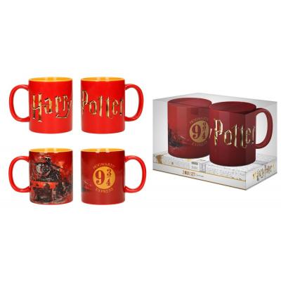 Harry Potter: Hogwarts Express Logo 2 Mug Set