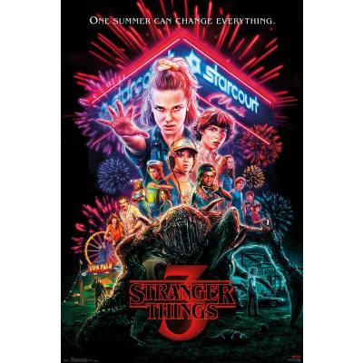 Stranger Things: Season 3 One Sheet 91 x 61 cm Poster
