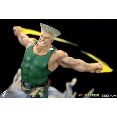 Street Fighter: Guile - War Heroes Diorama
