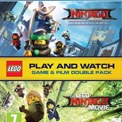 Lego Ninjago (PS4) + Lego ninjago Movie (Blu-ray)
