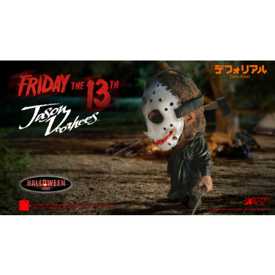 Friday the 13th: Halloween Jason Voorhees Defo-Real Statue
