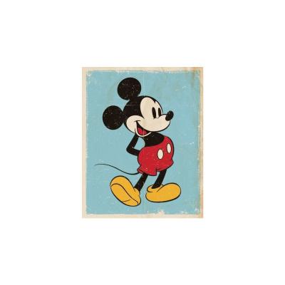 Mickey Mouse Poster Retro 40x50cm