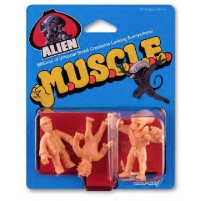 Alien: 1.75 inch Muscle Figures 3 figure Set - Wave 1 Pack C