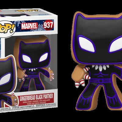 POP Marvel: Holiday - Gingerbread Black Panther