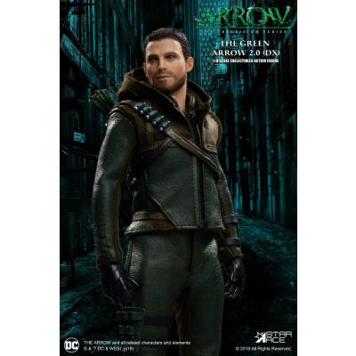 DC Comics: Arrow TV - Deluxe The Green Arrow 1:8 Scale Action Figure