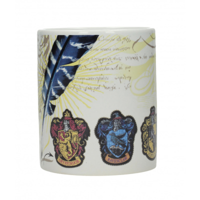 Harry Potter: House Emblems White Mug